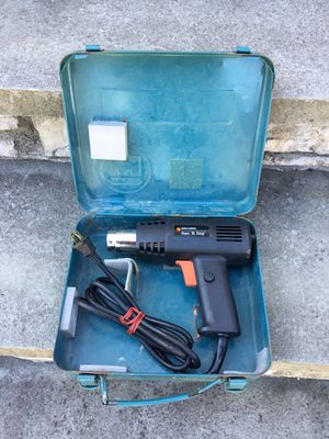 Heat gun with carry case for Sale in Concord, MA
