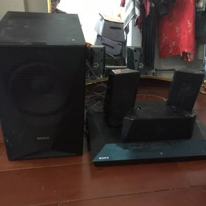 Sony Home Audio System With Sub for Sale in Brooklyn, NY