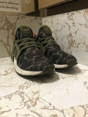 Authentic Adidas NMD XR1 Olive Duck Camo for Sale in San Antonio, TX