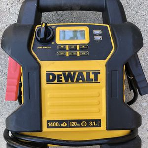DEWALT-DXAEJ14 Jump Starter with Digital Compressor - For Parts for Sale in Glendale, CA