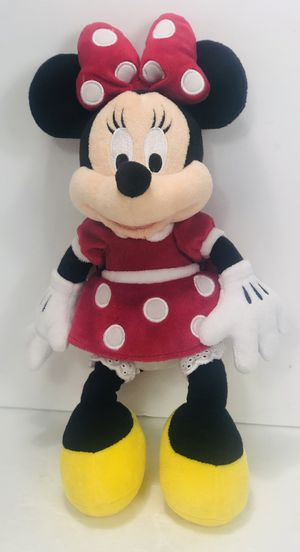 """Walt Disney World MINNIE MOUSE IN RED DRESS Dots 13"""" Plush Vintage New With Tag for Sale in Chamblee, GA"""