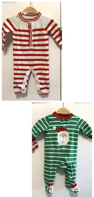 Holiday Sweater Knit Coverall 0-3m and Christmas Footed Coverall 3m Baby Infant for Sale in Las Vegas, NV