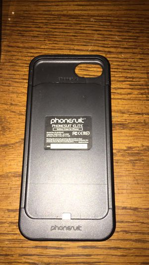 iPhone 7 rechargeable case for Sale in DeLand, FL