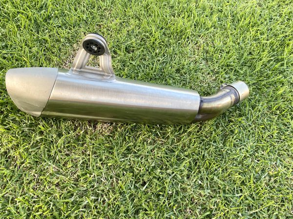 Motorbike exhaust tail pipe