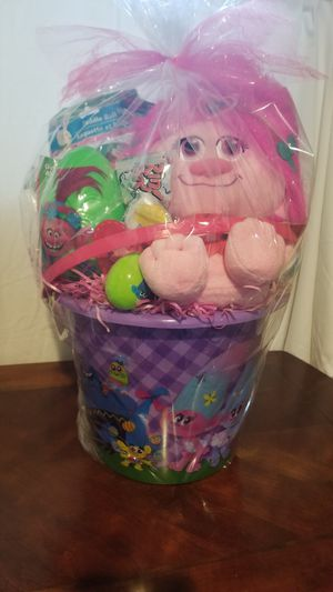 Troll Easter basket for Sale in Cedar Hill, TX