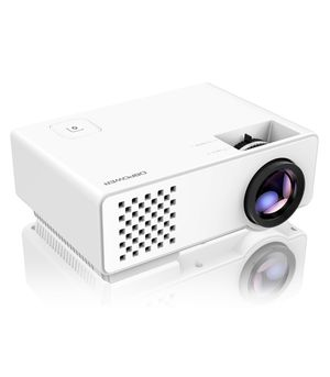 Mini LED Video Projector, Multimedia Home Theater Video Projector Supporting 1080P, HDMI, USB, VGA, AV for Home Cinema, TVs, Laptops, Games, & Smartp for Sale in Cypress, TX