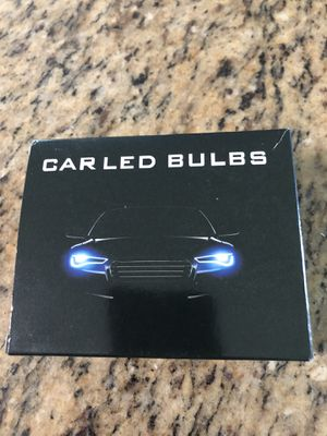 New led white / blue bulbs , H7 bulb for head lights hi/ low beam so check your model of your headlight to make sure it fits only $20 for Sale in Kissimmee, FL