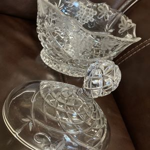 Covered Lead Crystal Candy Dish for Sale in Round Rock, TX