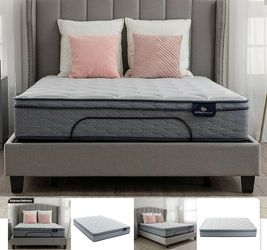 Serta perfect Sleeper Charlotte Queen mattress for Sale in Delray Beach,  FL