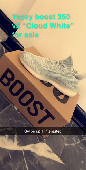"Brand new adidas yeezy boost 350 v2 ""cloud white"". Size 11.5 for Sale in Buffalo, NY"