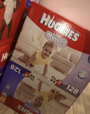 Huggies Size 3 Little Movers for Sale in Las Vegas, NV