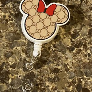 New Handmade Minnie Mouse Retractable ID Badge Holder for Sale in Lynnwood, WA