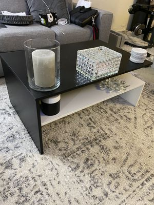 Black and white coffee table. for Sale in San Jose, CA