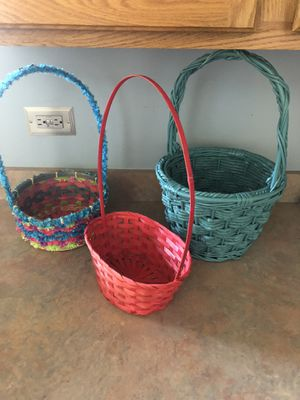 Easter baskets for Sale in Romeoville, IL