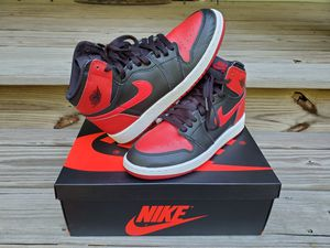 Banned Jordan 1 Retro High OG (GS size 7, replacment box) for Sale in Raleigh, NC