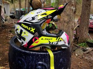 Ls2 motocross helmet for Sale in Roy, WA