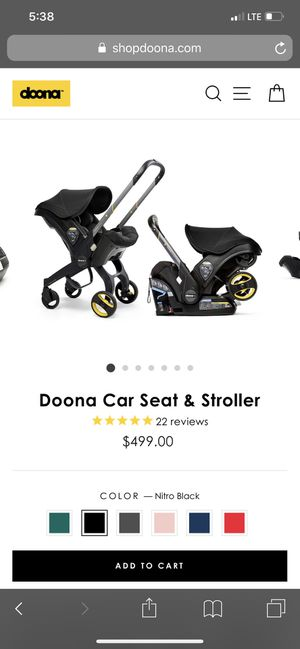 Doona Baby Car seat / stroller for Sale in Austin, TX