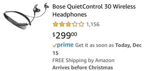 Bose quiet control 20 wireless headphones for Sale in Federal Way, WA