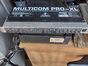 Behringer Multicom Pro-XL MDX4600 4-Channel Audio Interactive Dynamics Processor for Sale in Las Vegas, NV
