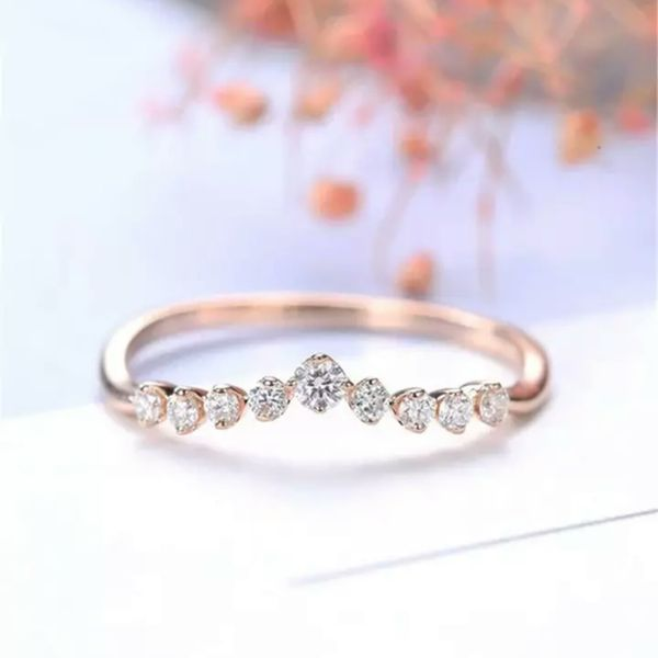 14k Rose Gold Filled Ring for Women