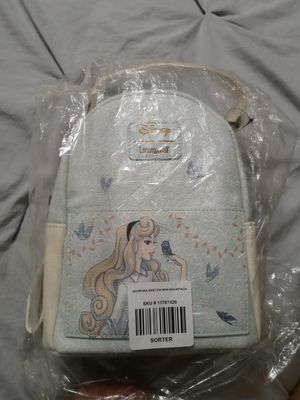 Disney LoungeFly Backpack sleepy beauty for Sale in Buena Park, CA