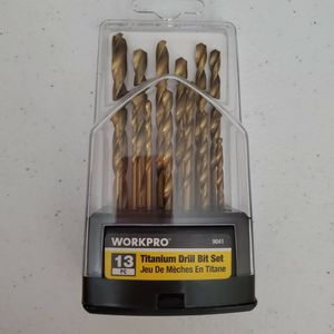 WorkPro Titanium Drill Bit Set for Sale in Barstow, CA