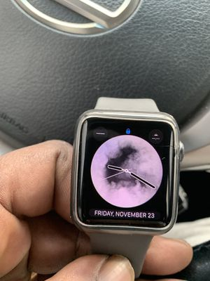 Apple Series 3 Cracked screen for Sale in Little Rock, AR