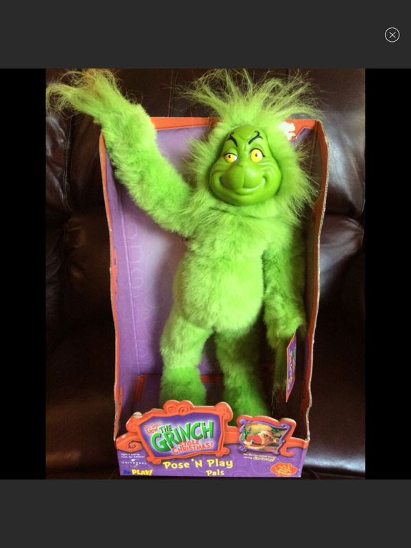 How The Grinch Stole Christmas -Pose 'N Play Pals
