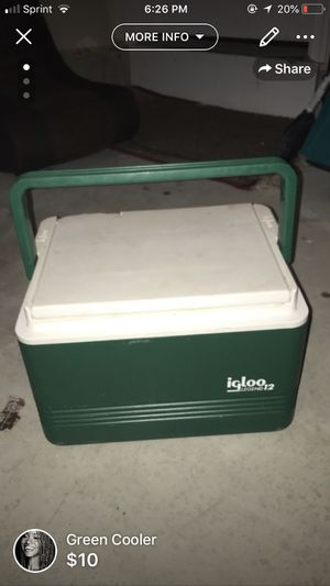 Green Cooler for Sale in Fort Meade, MD