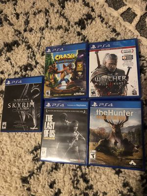 PS4 games for Sale in Saint Charles, MO
