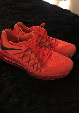 Men's Nike Air Max 2015 Red for Sale in West Los Angeles, CA