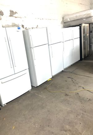 All size regular frige like new warranty for Sale in Passaic, NJ