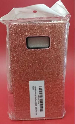 Samsung Galaxy S8 Plus Rose Gold Glitter Wallet Case for Sale in San Diego, CA