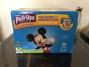 Pampers Pull UPS Diapers 3t-4t Mickey Mouse Toddler Boy for Sale in Alameda, CA