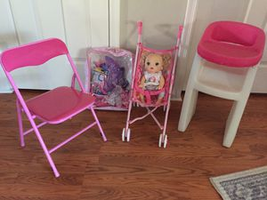 Doll Items and Girls Chair for Sale in Phoenix, AZ