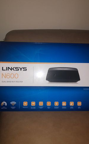 Linksys N600 Dual Band WiFi Router for Sale in Laurel, MD