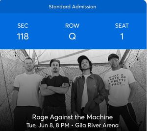 Rage Concert for Sale in Glendale, AZ