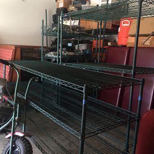 Metal Shelvin for Sale in Dinuba, CA
