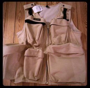 Fly fishing vest or photographers vest new with tags for Sale in Secaucus, NJ
