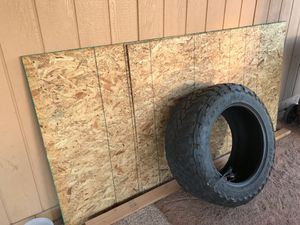 OSB 3/8 4X8 (1). Plus (1) 3/4 sheet as well for Sale in Fort McDowell, AZ