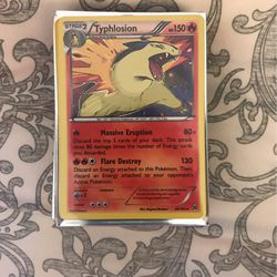 Typhlosion Breakthrough Pokémon Card for Sale in San Lorenzo,  CA