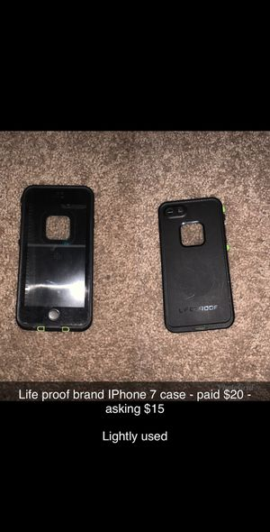 Life proof IPhone 7 case for Sale in Winter Haven, FL