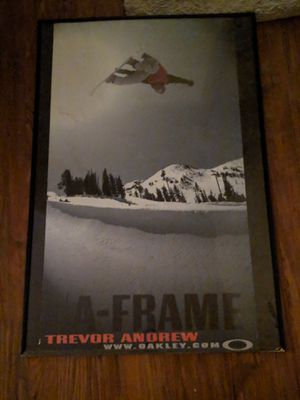Large Oakley s a frame Trevor Andrews picture for Sale in White City, OR