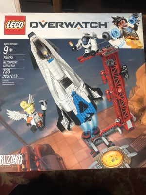 Lego 75975 overwatch watchpoint Gibraltar set brand new sealed for Sale in Palm Harbor, FL