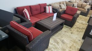 Brand New Outdoor Patio Furniture Sofa two chairs and table for Sale in Hayward, CA