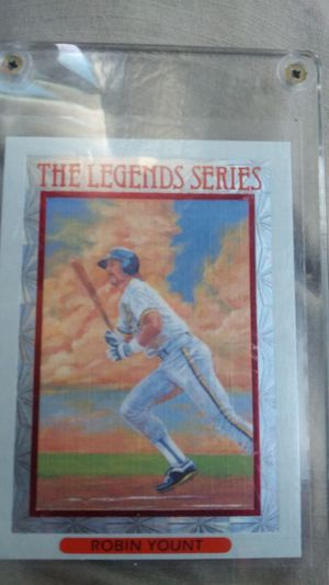 Robin Yount 1992 Leaf Inc Baseball Card for Sale in Clearwater, FL