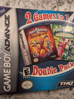 Power Rangers 2 in 1 Double Pack FACTORY SEALED for Sale in Edinburg,  TX