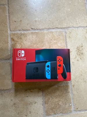 New Nintendo Switch Console Neon for Sale in Portland, OR