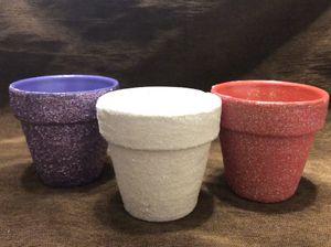 ***Super cute mini glitter pots*** for Sale in Mesa, AZ