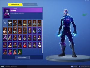 Galaxy account for Sale in US